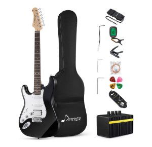 Donner DST-1BL 39 Inch Left-Handed Electric Guitar Kit