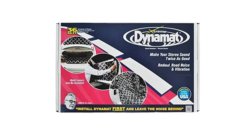 """Dynamat 10455 18"""" x 32"""" x 0.067"""" Thick Self-Adhesive Sound Deadener with Extreme Bulk Pack"""