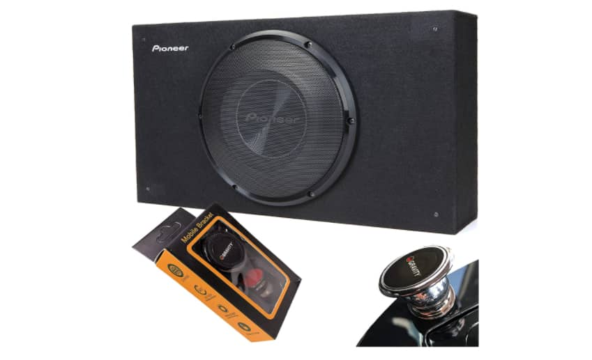 Pioneer TS-SWX2502 Shallow Subwoofer