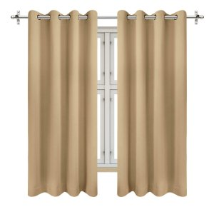 Utopia bedding 2 panel blackout thermal curtains