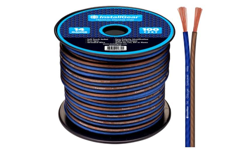 InstallGear 14 Gauge AWG 100ft Speaker Wire