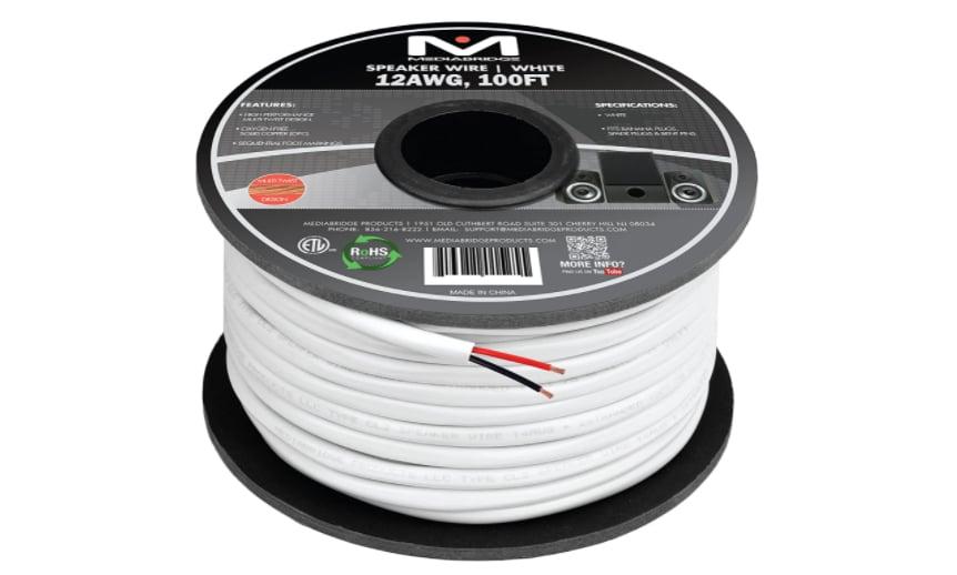 Mediabridge 12AWG 2-Conductor Speaker Wire