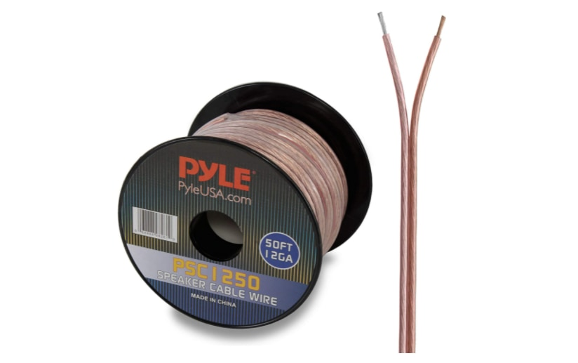 Pyle 50ft 12 Gauge Speaker Wire