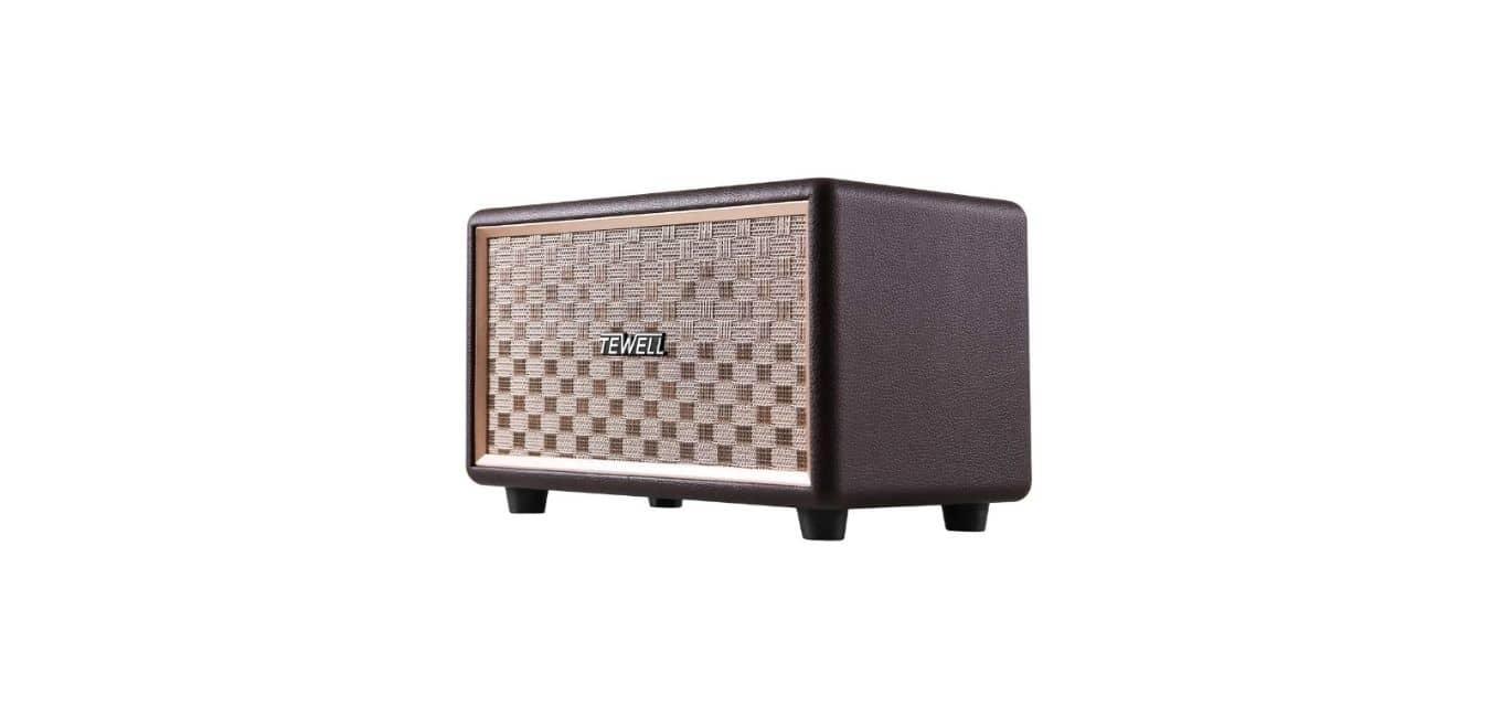 TEWELL Vintage Bluetooth Speakers