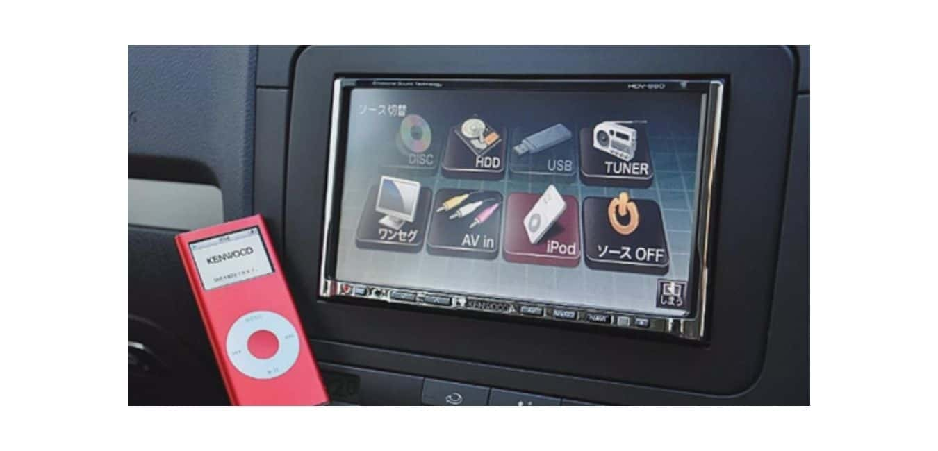 Can I play my iPod in my car